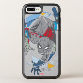 Spider-Man en Web Funda OtterBox Symmetry Para iPhone 7 Plus