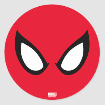 Spider-Man Eyes Classic Round Sticker