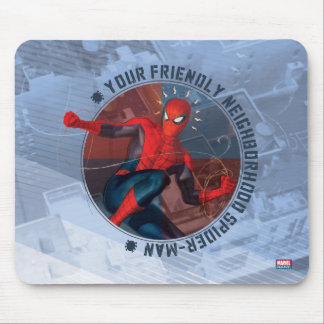 Spider-Man | Friendly Neighborhood Spider-Man Art Mouse Pad