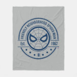 Spider-Man | Friendly Neighborhood Spider-Man Logo Fleece Blanket