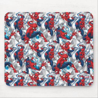 Spider-Man | Geometric Character Art Pattern Mouse Pad