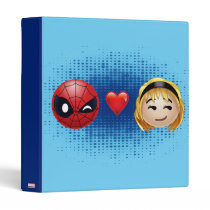 Spider-Man & Gwen Heart Emoji Binder