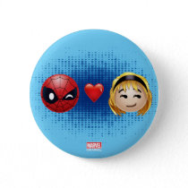Spider-Man & Gwen Heart Emoji Button