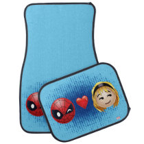 Spider-Man & Gwen Heart Emoji Car Mat