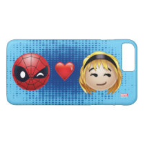 Spider-Man & Gwen Heart Emoji iPhone 8 Plus/7 Plus Case