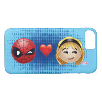 Spider-Man & Gwen Heart Emoji iPhone 8/7 Case