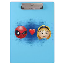 Spider-Man & Gwen Heart Emoji Clipboard