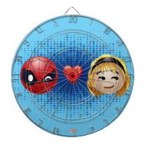 Spider-Man & Gwen Heart Emoji Dartboard