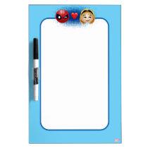 Spider-Man & Gwen Heart Emoji Dry-Erase Board