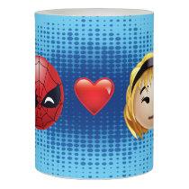 Spider-Man & Gwen Heart Emoji Flameless Candle