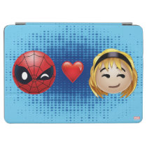 Spider-Man & Gwen Heart Emoji iPad Air Cover