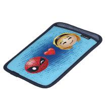 Spider-Man & Gwen Heart Emoji iPad Mini Sleeve