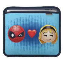 Spider-Man & Gwen Heart Emoji iPad Sleeve