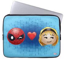 Spider-Man & Gwen Heart Emoji Laptop Sleeve