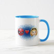 Spider-Man & Gwen Heart Emoji Mug