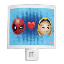 Spider-Man & Gwen Heart Emoji Night Light