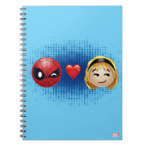 Spider-Man & Gwen Heart Emoji Notebook