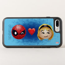 Spider-Man & Gwen Heart Emoji OtterBox Symmetry iPhone 8 Plus/7 Plus Case