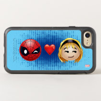 Spider-Man & Gwen Heart Emoji OtterBox Symmetry iPhone SE/8/7 Case