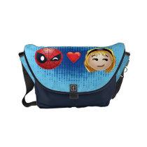 Spider-Man & Gwen Heart Emoji Small Messenger Bag