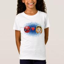 Spider-Man & Gwen Heart Emoji T-Shirt