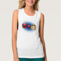 Spider-Man & Gwen Heart Emoji Tank Top