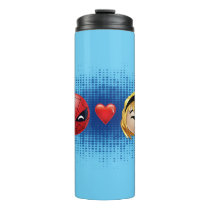 Spider-Man & Gwen Heart Emoji Thermal Tumbler