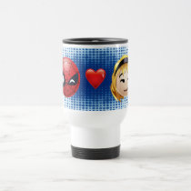 Spider-Man & Gwen Heart Emoji Travel Mug