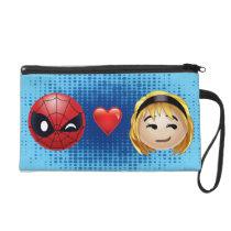 Spider-Man & Gwen Heart Emoji Wristlet