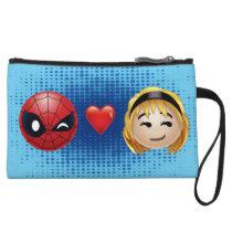 Spider-Man & Gwen Heart Emoji Wristlet Wallet