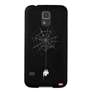 Spider-Man Hanging From Web Silhouette Case For Galaxy S5
