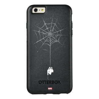Spider-Man Hanging From Web Silhouette OtterBox iPhone 6/6s Plus Case