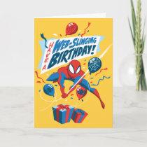Spider-Man | Have A Web-Slinging Birthday Card