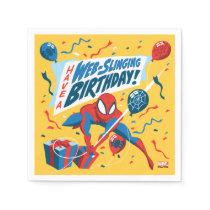 Spider-Man | Have A Web-Slinging Birthday Napkins