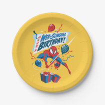 Spider-Man | Have A Web-Slinging Birthday Paper Plate