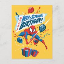 Spider-Man | Have A Web-Slinging Birthday Postcard