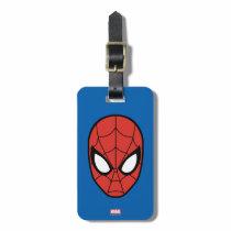 Spider-Man Head Icon Bag Tag