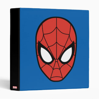 Spider-Man Head Icon Binder