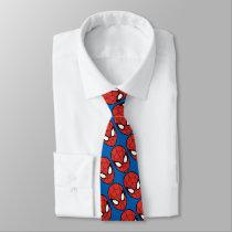 Spider-Man Head Icon Neck Tie
