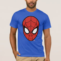 Spider-man Head Icon T-shirt at Zazzle