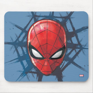 Spider-Man | Head In A Web Mouse Pad