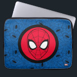 "Spider-Man | Head Logo Computer Sleeve<br><div class=""desc"">Check out this logo for Spider-Man featuring his head within a circular badge.</div>"