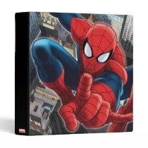 Spider-Man High Above the City Binder