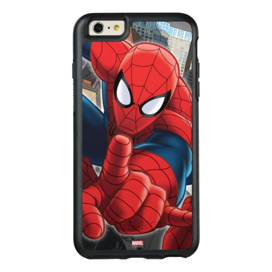 new concept b6476 5e43c Spider-Man High Above the City OtterBox iPhone Case