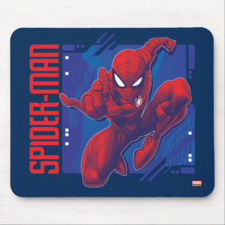 Spider-Man | High-Tech Character Badge Mouse Pad