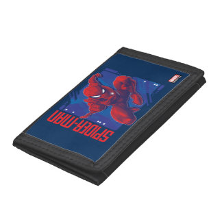 Spider-Man | High-Tech Character Badge Trifold Wallet