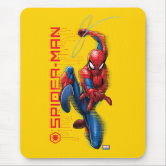 Spider-Man | High-Tech Circuit Character Art Mouse Pad