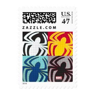 Spider-Man Icon Pattern Postage Stamp
