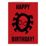 Spider-Man | Iconic Graphic Spider Pattern Card