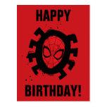 Spider-Man | Iconic Graphic Spider Pattern Postcard